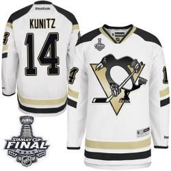 Chris Kunitz Pittsburgh Penguins Reebok Premier 2014 Stadium Series 2016 Stanley Cup Final Bound NHL Jersey (White)