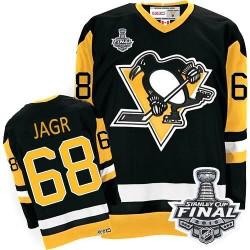Jaromir Jagr Pittsburgh Penguins CCM Authentic Throwback 2016 Stanley Cup Final Bound NHL Jersey (Black)
