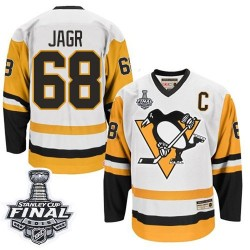 Jaromir Jagr Pittsburgh Penguins CCM Authentic Throwback 2016 Stanley Cup Final Bound NHL Jersey (White)
