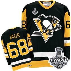 Jaromir Jagr Pittsburgh Penguins CCM Premier Throwback 2016 Stanley Cup Final Bound NHL Jersey (Black)