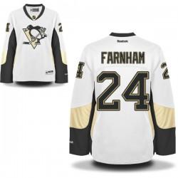 Bobby Farnham Pittsburgh Penguins Reebok Women's Premier Away Jersey (White)