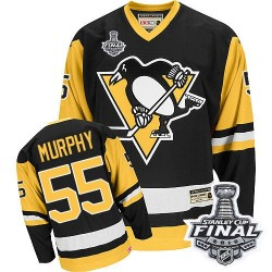 Larry Murphy Pittsburgh Penguins CCM Authentic Throwback 2016 Stanley Cup Final Bound NHL Jersey (Black)