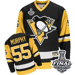 Larry Murphy Pittsburgh Penguins CCM Premier Throwback 2016 Stanley Cup Final Bound NHL Jersey (Black)