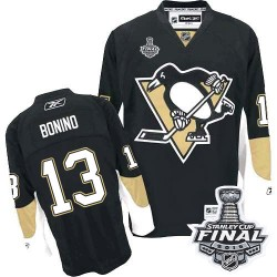 Nick Bonino Pittsburgh Penguins Reebok Authentic Home 2016 Stanley Cup Final Bound NHL Jersey (Black)