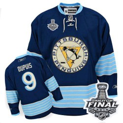 Pascal Dupuis Pittsburgh Penguins Reebok Authentic Third Vintage 2016 Stanley Cup Final Bound NHL Jersey (Navy Blue)