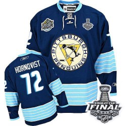 Patric Hornqvist Pittsburgh Penguins Reebok Authentic Third Vintage 2016 Stanley Cup Final Bound NHL Jersey (Navy Blue)