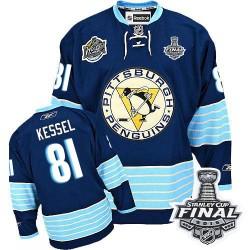 Phil Kessel Pittsburgh Penguins Reebok Premier Third Vintage 2016 Stanley Cup Final Bound NHL Jersey (Navy Blue)