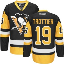 Bryan Trottier Pittsburgh Penguins Reebok Authentic Black/ Third Jersey (Gold)