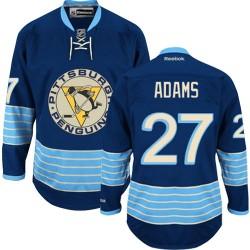 Craig Adams Pittsburgh Penguins Reebok Premier Vintage New Third Jersey (Navy Blue)