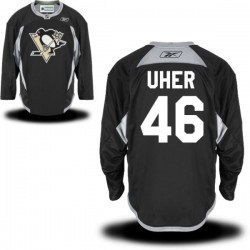 Dominik Uher Pittsburgh Penguins Reebok Premier Alternate Jersey (Black)