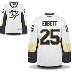Andrew Ebbett Pittsburgh Penguins Reebok Women's Premier Away Jersey (White)