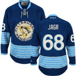 Jaromir Jagr Pittsburgh Penguins Reebok Authentic Vintage New Third Jersey (Navy Blue)
