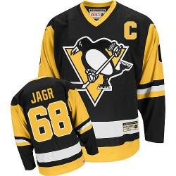 Jaromir Jagr Pittsburgh Penguins CCM Authentic Throwback Jersey (Black)
