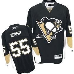 Larry Murphy Pittsburgh Penguins Reebok Premier Home Jersey (Black)