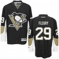Marc-andre Fleury Pittsburgh Penguins Reebok Premier Home Jersey (Black)