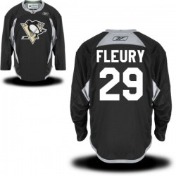 Marc-andre Fleury Pittsburgh Penguins Reebok Premier Alternate Jersey (Black)