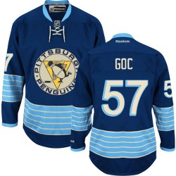 Marcel Goc Pittsburgh Penguins Reebok Premier Vintage New Third Jersey (Navy Blue)