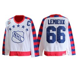 Mario Lemieux Pittsburgh Penguins CCM Authentic All Star Throwback 75TH Jersey (White)