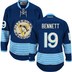 Beau Bennett Pittsburgh Penguins Reebok Authentic Vintage New Third Jersey (Navy Blue)