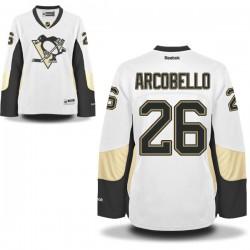 Mark Arcobello Pittsburgh Penguins Reebok Women's Premier Away Jersey (White)