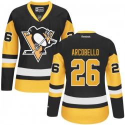 Mark Arcobello Pittsburgh Penguins Reebok Premier Alternate Jersey (Black)