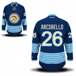 Mark Arcobello Pittsburgh Penguins Reebok Authentic Alternate Jersey (Royal Blue)