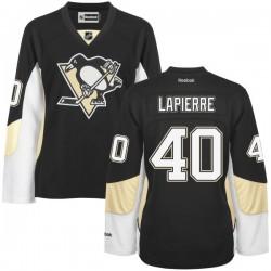 Maxim Lapierre Pittsburgh Penguins Reebok Women's Premier Home Jersey (Black)