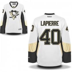 Maxim Lapierre Pittsburgh Penguins Reebok Women's Premier Away Jersey (White)