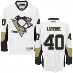 Maxim Lapierre Pittsburgh Penguins Reebok Authentic Away Jersey (White)