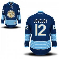 Ben Lovejoy Pittsburgh Penguins Reebok Premier Alternate Jersey (Royal Blue)