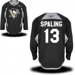 Nick Spaling Pittsburgh Penguins Reebok Premier Alternate Jersey (Black)