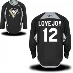 Ben Lovejoy Pittsburgh Penguins Reebok Premier Alternate Jersey (Black)