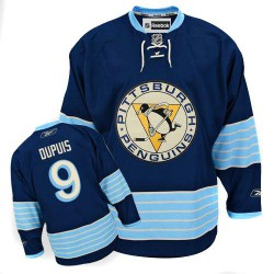 Pascal Dupuis Pittsburgh Penguins Reebok Authentic Vintage New Third Jersey (Navy Blue)
