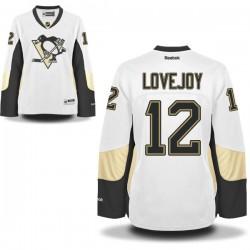 Ben Lovejoy Pittsburgh Penguins Reebok Women's Premier Away Jersey (White)
