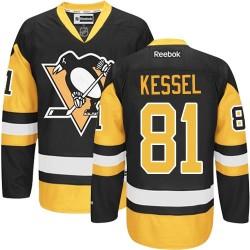Phil Kessel Pittsburgh Penguins Reebok Authentic Black/ Third Jersey (Gold)