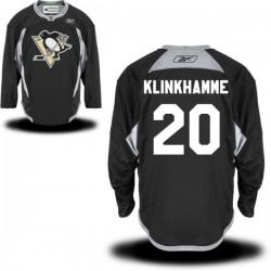 Rob Klinkhammer Pittsburgh Penguins Reebok Premier Alternate Jersey (Black)