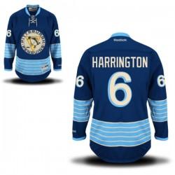 Scott Harrington Pittsburgh Penguins Reebok Authentic Alternate Jersey (Royal Blue)