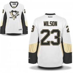Scott Wilson Pittsburgh Penguins Reebok Women's Premier Away Jersey (White)