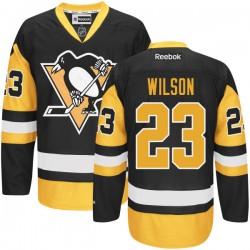 Scott Wilson Pittsburgh Penguins Reebok Authentic Alternate Jersey (Black)