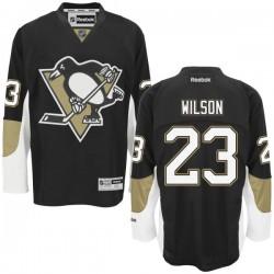 Scott Wilson Pittsburgh Penguins Reebok Authentic Home Jersey (Black)