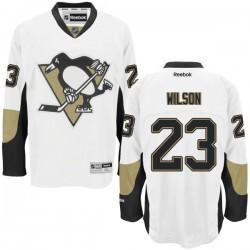 Scott Wilson Pittsburgh Penguins Reebok Authentic Away Jersey (White)