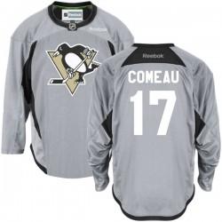 Blake Comeau Pittsburgh Penguins Reebok Premier Gray Practice Team Jersey ()