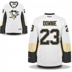 Steve Downie Pittsburgh Penguins Reebok Women's Premier Away Jersey (White)