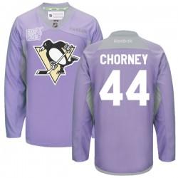 Taylor Chorney Pittsburgh Penguins Reebok Premier 2016 Hockey Fights Cancer Practice Jersey (Purple)