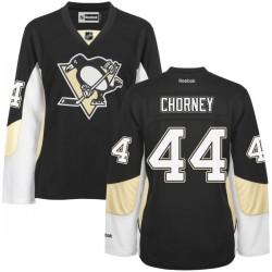 Taylor Chorney Pittsburgh Penguins Reebok Women's Premier Home Jersey (Black)