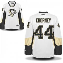 Taylor Chorney Pittsburgh Penguins Reebok Women's Premier Away Jersey (White)