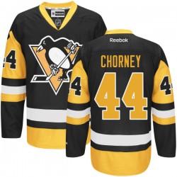 Taylor Chorney Pittsburgh Penguins Reebok Authentic Alternate Jersey (Black)