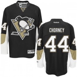 Taylor Chorney Pittsburgh Penguins Reebok Authentic Home Jersey (Black)