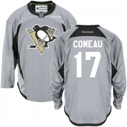 Blake Comeau Pittsburgh Penguins Reebok Authentic Gray Practice Team Jersey ()