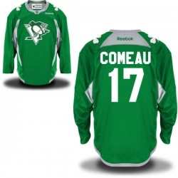 Blake Comeau Pittsburgh Penguins Reebok Authentic St. Patrick's Day Replica Practice Jersey (Green)